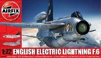 エアフィックス1/72 ミリタリーエアクラフトイングリッシュ エレクトリック ライトニング F.6
