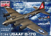 ミニクラフト1/144 軍用機プラスチックモデルキットアメリカ陸軍航空隊 B-17G