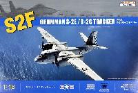 キネティック1/48 エアクラフト プラモデルグラマン S-2E/S-2G トラッカー