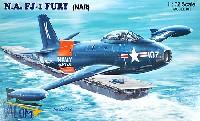 バロムモデル1/72 エアクラフト プラモデルノースアメリカン FJ-1 フューリー 艦上戦闘機 (NAR)