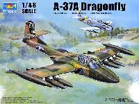 トランペッター1/48 エアクラフト プラモデルA-37A ドラゴンフライ