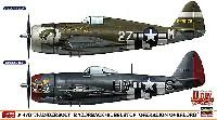 P-47D サンダーボルト レザーバック/バブルトップ オーバーロード作戦 (2機セット)