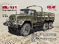 ICM1/35 ミリタリービークル・フィギュアソビエト ZiL-131 カーゴトラック