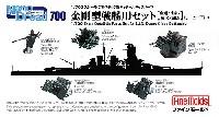 ファインモールド1/700 ナノ・ドレッド シリーズ金剛型戦艦用セット (金剛/比叡/榛名/霧島) (リニューアル)