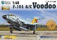 キティホーク1/48 ミリタリーエアクラフト プラモデルF-101A/C ブードゥー