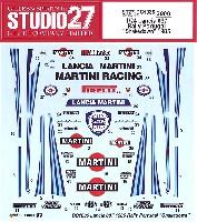 スタジオ27ラリーカー オリジナルデカールランチア 037 ラリー ポルトガル シェイクダウン 1985 デカール