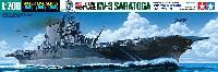 タミヤ1/700 ウォーターラインシリーズアメリカ海軍 航空母艦 CV-3 サラトガ