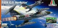イタレリ1/32 飛行機F-104 G/S スターファイター (パイロットフィギュア付き)
