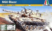 イタレリ1/35 ミリタリーシリーズイスラエル戦車 M60 ブレイザー (アメリカ現用アクセサリーパーツ付き)