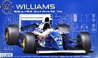 フジミ1/20 GPシリーズ SP (スポット)ウィリアムズ FW16 1994年 ブラジルグランプリ仕様 (レジン製塗装済み ドライバーフィギュア付)