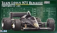 フジミ1/20 GPシリーズ SP (スポット)ロータス 97T ルノー 1985年 ポルトガルグランプリ仕様 (レジン製塗装済み ドライバーフィギュア付)