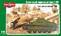 ロシア T-90 対空軽戦車 12.7mm連装機銃