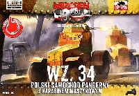 FTF1/72 AFVポーランド Wz.34 小型4輪装甲車 MG搭載型