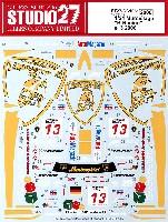 スタジオ27ツーリングカー/GTカー オリジナルデカールランボルギーニ ムルシエラゴ B-Racing #13 2006