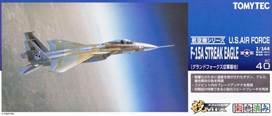 アメリカ空軍 F-15A ストリークイーグル (グランドフォークス空軍基地)プラモデル(トミーテック技MIXNo.AC040)商品画像