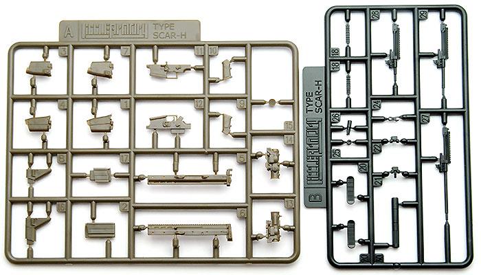 SCAR-H タイププラモデル(トミーテックリトルアーモリー (little armory)No.LA003)商品画像_2