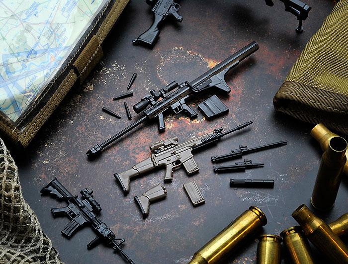 M82A2 タイププラモデル(トミーテックリトルアーモリー (little armory)No.LA004)商品画像_3