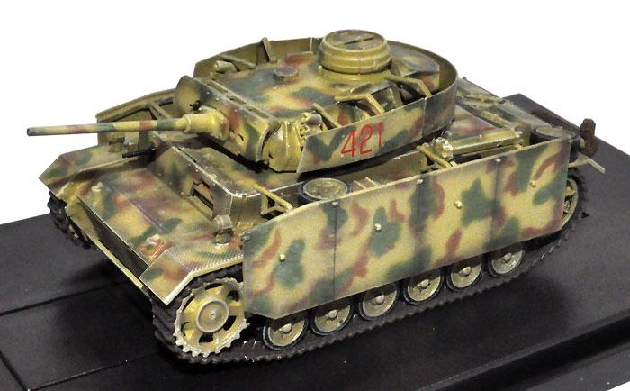 ドイツ 3号戦車 M型 ドイツ 第11装甲師団 第15戦車連隊 第4中隊 1943年 クルスク完成品(ドラゴン1/72 ドラゴンアーマーシリーズNo.60663)商品画像_2