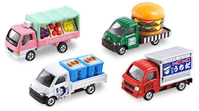 あつまれ!トミカのたべものやさんミニカー(タカラトミートミカギフト (BOX)No.207026)商品画像_1