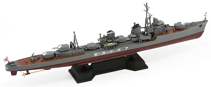 日本海軍 陽炎型駆逐艦 天津風 (新装備付)プラモデル(ピットロード1/700 スカイウェーブ W シリーズNo.SPW030)商品画像_3