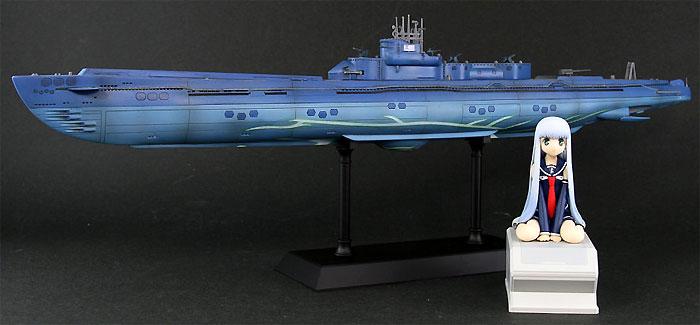 潜水艦 イ401 with イオナ (蒼き鋼のアルペジオ アルス・ノヴァ)完成品(ピットロード塗装済完成品モデルNo.PD013)商品画像_1