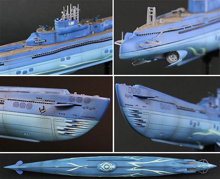 潜水艦 イ401 with イオナ (蒼き鋼のアルペジオ アルス・ノヴァ)完成品(ピットロード塗装済完成品モデルNo.PD013)商品画像_2
