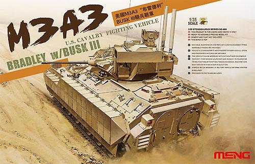 M3A3 ブラッドレー w/BUSK3プラモデル(MENG-MODEL1/35 ステゴザウルス シリーズNo.SS-006)商品画像