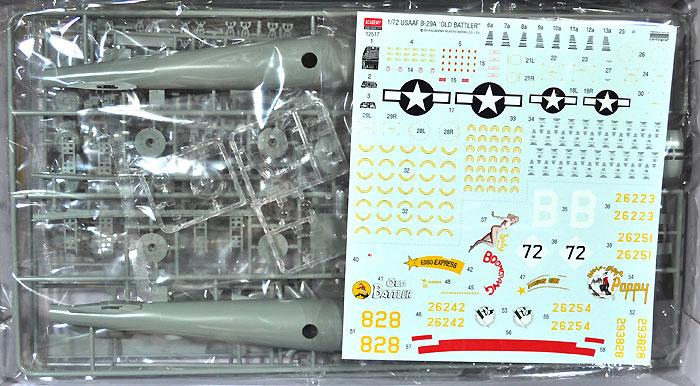 USAAF B-29A オールドバトラープラモデル(アカデミー1/72 AircraftsNo.12517)商品画像_1