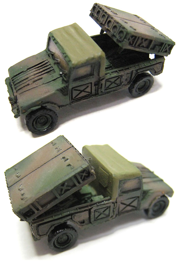 陸上自衛隊 96式多目的誘導弾システムレジン(マツオカステン1/144 オリジナルレジンキャストキット (AFV)No.MTUAFV-071)商品画像_3