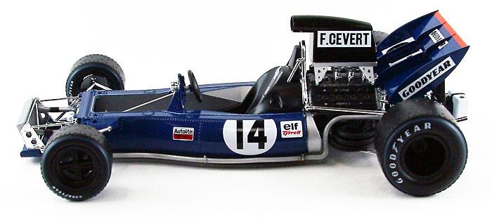 ティレル 002 1971 イギリスGPプラモデル(エブロ1/20 MASTER SERIES F-1No.008)商品画像_2