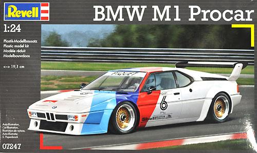BMW M1 プロカープラモデル(レベルカーモデルNo.07247)商品画像