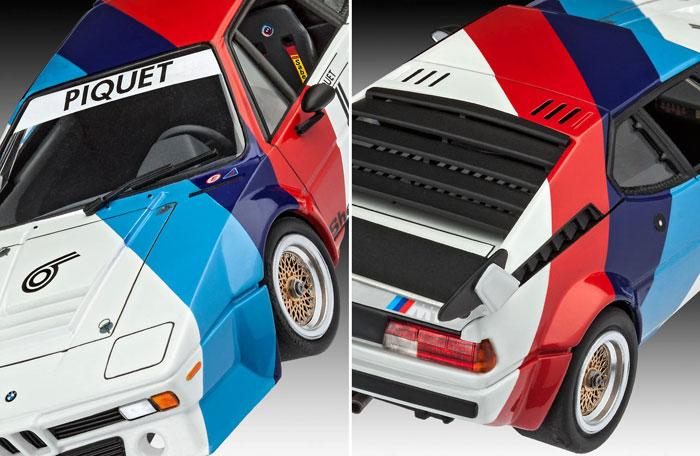 BMW M1 プロカープラモデル(レベルカーモデルNo.07247)商品画像_2