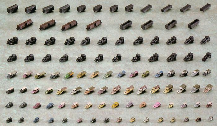 戦時輸送車両セットプラモデル(トミーテック技MIX 艦隊母港 無彩色キットNo.KC004)商品画像_3