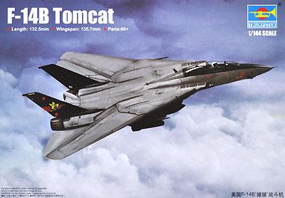 F-14B トムキャットプラモデル(トランペッター1/144 エアクラフトシリーズNo.03918)商品画像