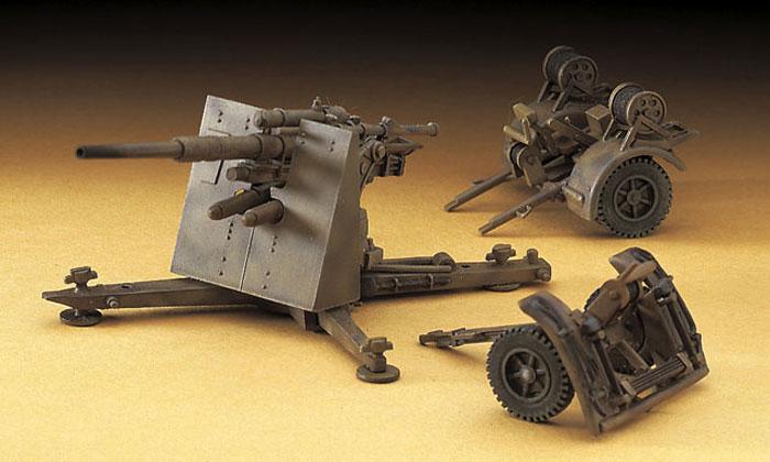 88mm 対空砲 Flak36プラモデル(ハセガワ1/72 ミニボックスシリーズNo.MT038)商品画像_3