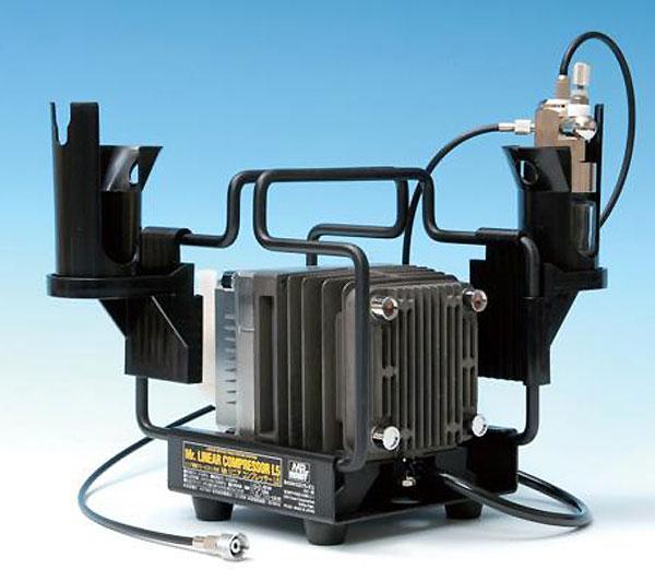 Mr.リニアコンプレッサー L5 / レギュレーターセットコンプレッサー(GSIクレオスMr.リニアコンプレッサーNo.PS310)商品画像