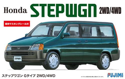 ステップワゴン Gタイプ 2WD/4WDプラモデル(フジミ1/24 インチアップシリーズNo.058)商品画像