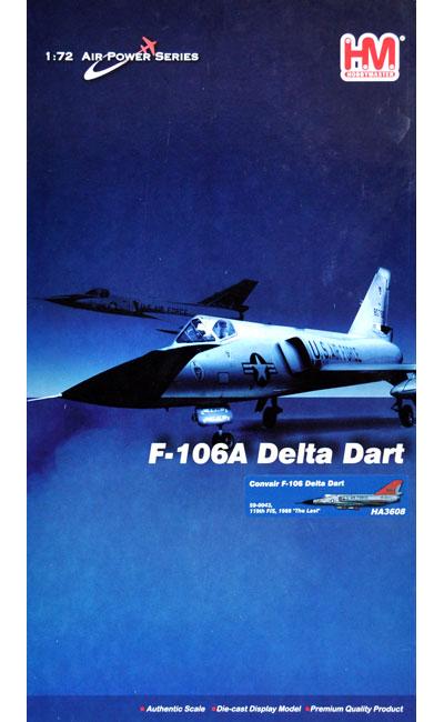 F-106 デルタ・ダート ザ・ラスト完成品(ホビーマスター1/72 エアパワー シリーズ (ジェット)No.HA3608)商品画像