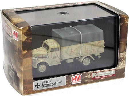 ドイツ 3トン カーゴトラック WH-281722完成品(ホビーマスター1/72 グランドパワー シリーズNo.HG3914)商品画像