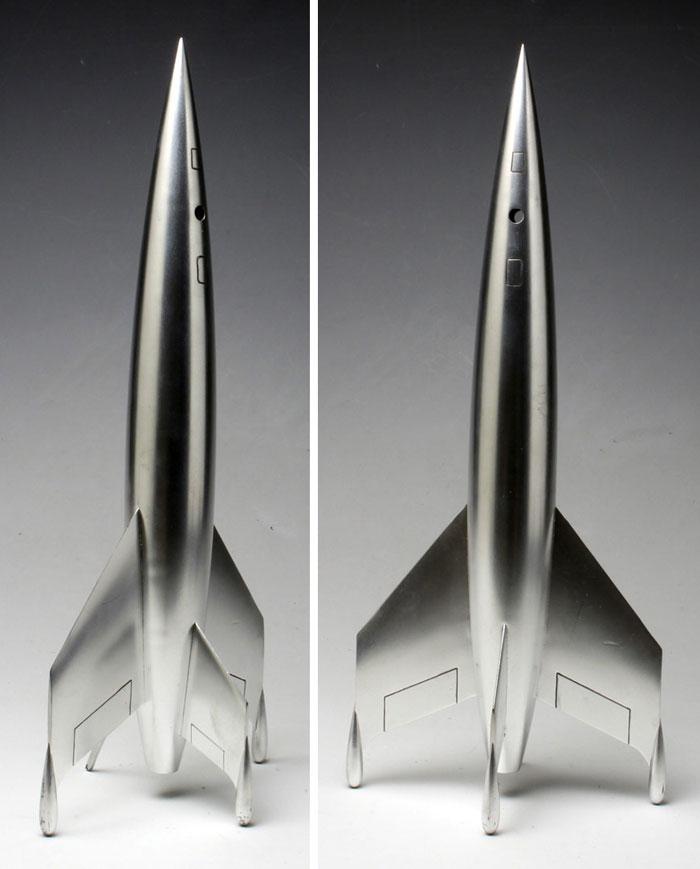 ルナロケットプラモデル(ペガサスホビープラスチックモデルキットNo.9111)商品画像_2