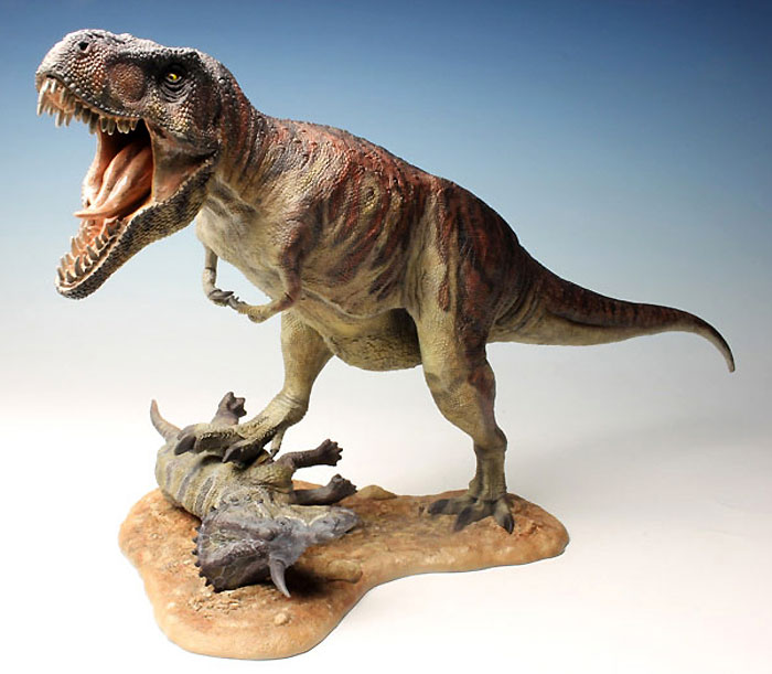 ティラノサウルス T-REXプラモデル(ペガサスホビープラスチックモデルキットNo.9551)商品画像_2