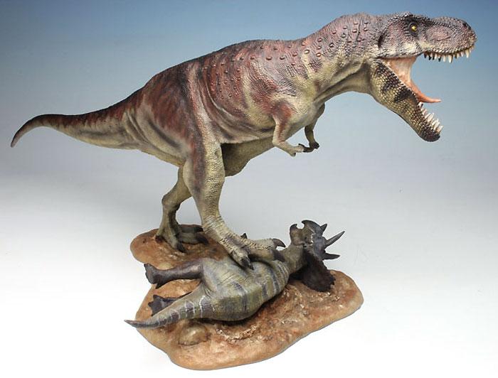 ティラノサウルス T-REXプラモデル(ペガサスホビープラスチックモデルキットNo.9551)商品画像_3