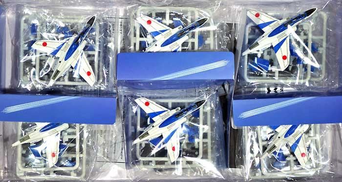 T-4 ブルーインパルス (6機セット)プラモデル(童友社1/144 現用機コレクション スマートセットNo.002)商品画像_1