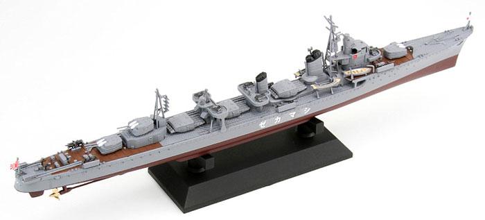 日本海軍 駆逐艦 島風 最終時プラモデル(ピットロード1/700 スカイウェーブ W シリーズNo.W161)商品画像_3