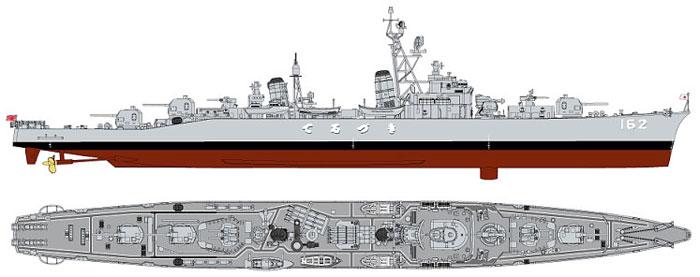 海上自衛隊 護衛艦 DD-162 てるづき (初代)プラモデル(ピットロード1/350 スカイウェーブ JB シリーズNo.JB023)商品画像_1