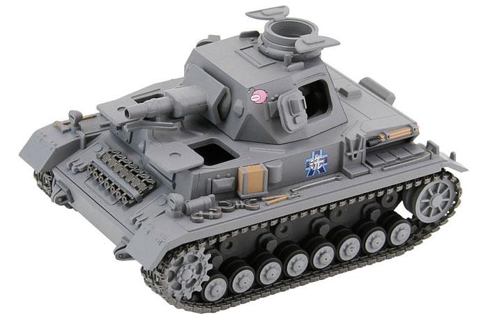 4号戦車 D型 エンディングVer.プラモデル(ピットロードガールズ&パンツァーNo.PD016)商品画像_2
