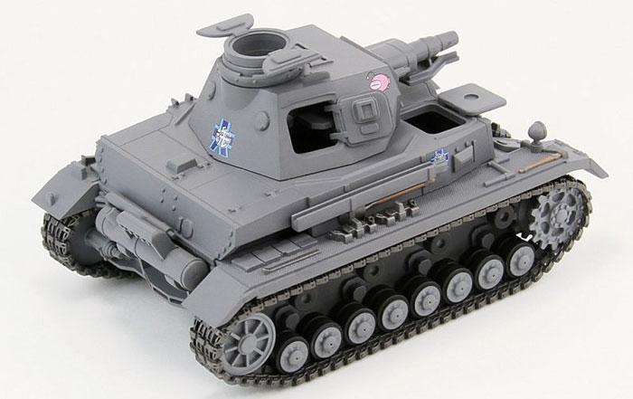 4号戦車 D型 エンディングVer.プラモデル(ピットロードガールズ&パンツァーNo.PD016)商品画像_3