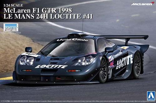 マクラーレン F1 GTR 1998 ル・マン 24時間 ロックタイト #41プラモデル(アオシマ1/24 スーパーカー シリーズNo.015)商品画像
