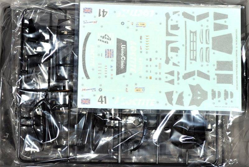 マクラーレン F1 GTR 1998 ル・マン 24時間 ロックタイト #41プラモデル(アオシマ1/24 スーパーカー シリーズNo.015)商品画像_1