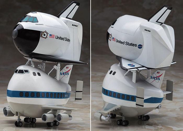 スペースシャトル & ボーイング 747プラモデル(ハセガワたまごひこーき シリーズNo.60507)商品画像_2
